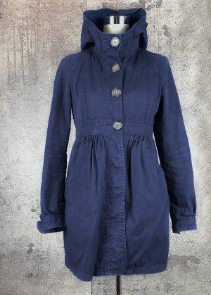 Jacke mit Kapuze blau Gr.36
