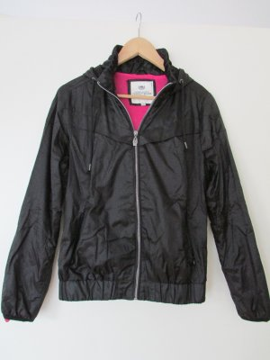 Bomber Jacket black-pink