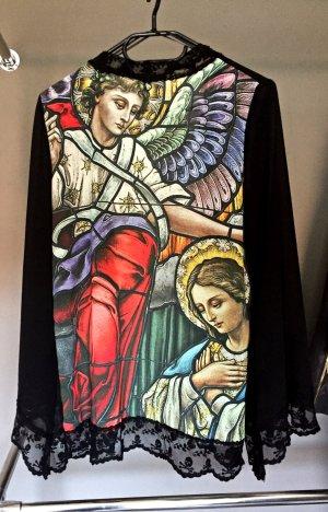 Jacke mit Kirchenfenster-Print