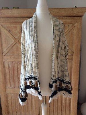 Zara Veste oversize multicolore coton