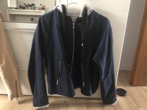 Zara Giacca bomber grigio-blu scuro