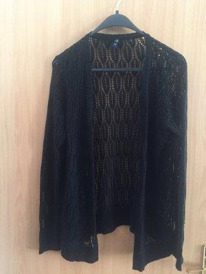 Multiblu Cardigan en crochet noir