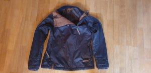 Naketano Waxed Jacket dark blue