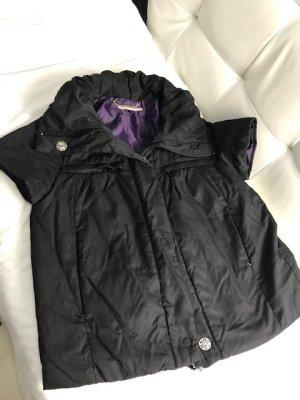 Giacca sport nero-grigio-lilla Cotone