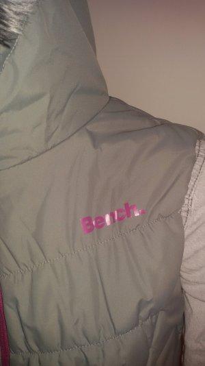 Jacke ohne Ärmel grau