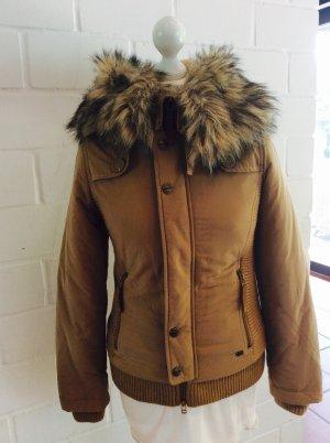 Short Jacket multicolored fake fur