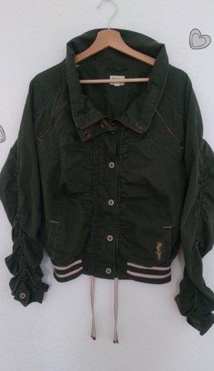 Jacke Pepe Jeans Gr. 38 olivgrün