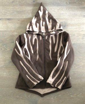 Fleece Jackets brown-cream