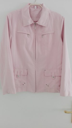 Jacke rosa, Wildlederoptik von Kingfield