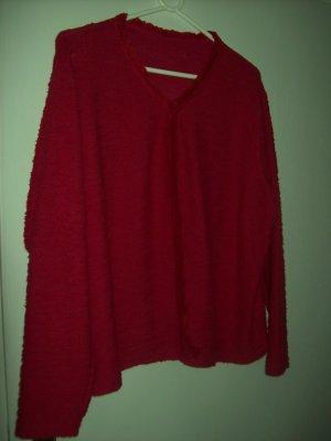 Adler Giacca di lana rosso scuro