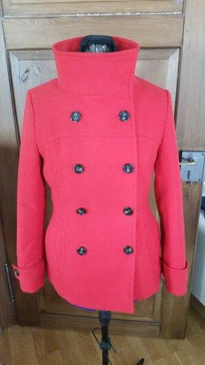 Jacke rot von H&M Gr 40