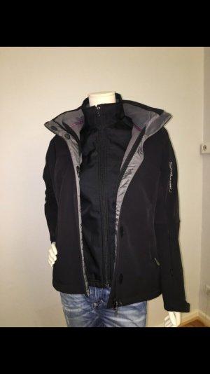 Jacke - Salomon Skijacke Snowboardjacke Winterjacke Größe M Ladies schwarz