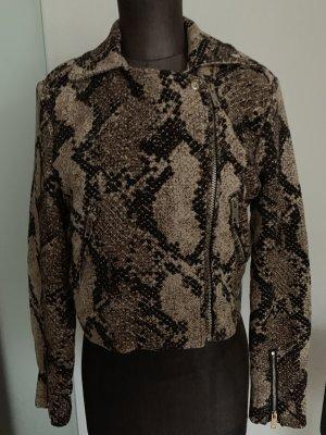 Jacke Schlangen Muster Gr 40 L von H&M