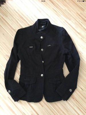 H&M Veste oversize noir