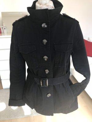 Jacke schwarz Gr.42, Vintage, Herbst-Übergangsjacke