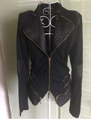 Jacke schwarz Größe S