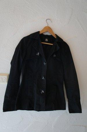Jacke schwarz H&M Größe 36