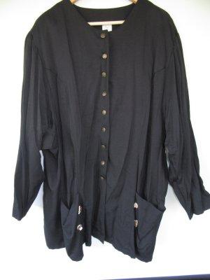 Jacke schwarz Vintage Retro Gr. 50 Tracht