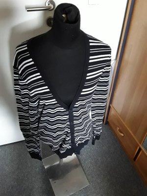 Jacke - schwarz-weiß gestreift - H&M - Knöpfe
