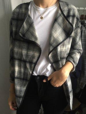 Jacke schwarz/weiß kariert