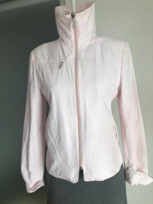 Jacke Stehkragen Reißverschluss Taschen Gr 34 36 XS S Rose