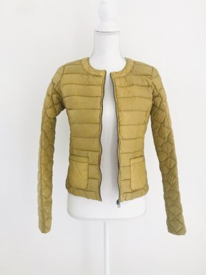 Jacke/ Steppjacke von Gas Woman, Gr. 40 (It.)/ 34 DE, senfgelb