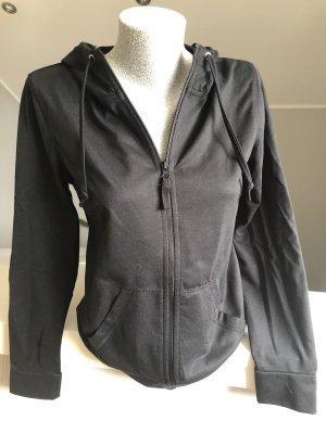 Jacke, Sweatshirtjacke , schwarz