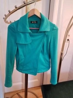 Shirt Jacket mint-turquoise cotton