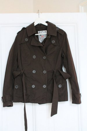 Jacke/Trench in XL von QS by S.Oliver in braun