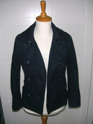 Jacke, Übergangsjacke, dunkelblau, H&M, Gr. 34/36