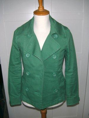 Jacke, Übergangsjacke, grün, H&M, Gr. 34/36