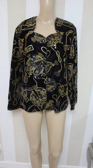 Jacke Vintage Look samt gold