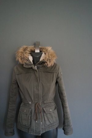 Abercrombie & Fitch Winter Jacket forest green