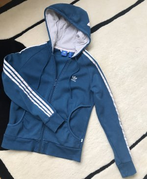 Adidas Originals Hoody petrol-white