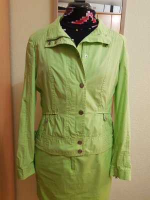 Apriori Blouse Jacket meadow green-neon green cotton