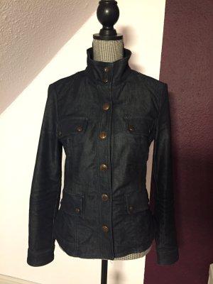 Armani Jeans Overgangsjack donkerblauw-donkergrijs