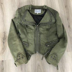 Blaze Denim Jacket green grey