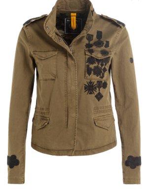 Jacke von Blonde No. 8 Khaki mit Stickerei