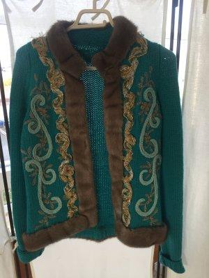 Jacke von Blumarine aus Kaschmir mit Nerz