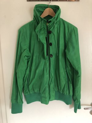 Cleptomanicx Raincoat green