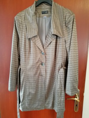 Creation L. Long Jacket light brown polyester