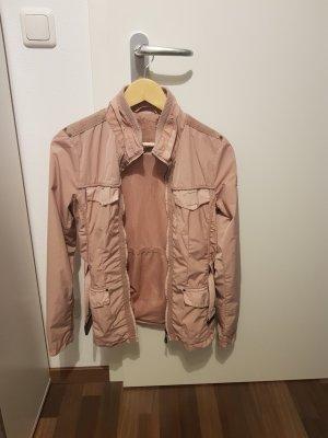 Jacke von Esprit, rosa/beige