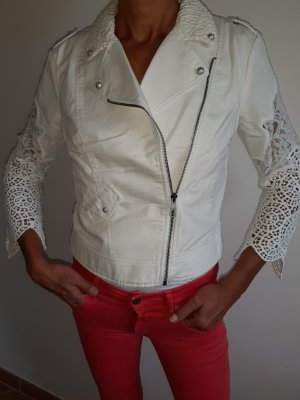 Guess Short Jacket natural white