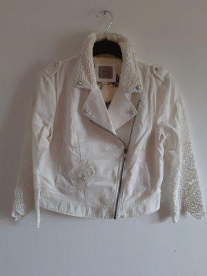 Guess Short Jacket natural white