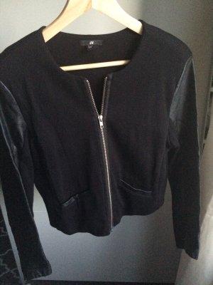 H&M Chaqueta corta negro