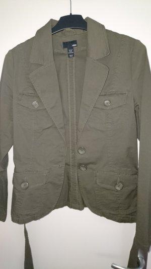 Jacke  von H&M in Khaki zu verkaufen