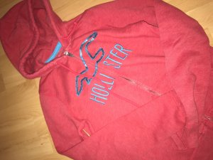 Hollister Sweat Jacket bright red-red