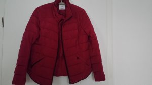 Mango Winter Jacket red polyester