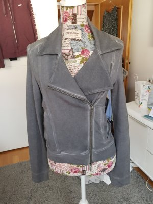 Oui Anytime Blazer sweat grigio-grigio scuro