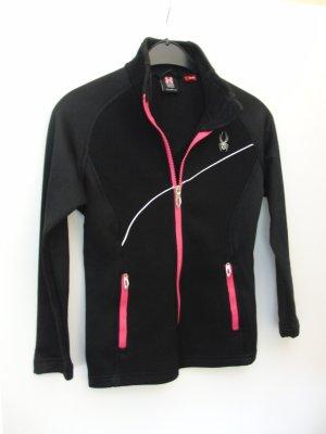 """Jacke von """"Spyder"""", sportlicher Stil, schwarz/pink, Größe XS, NEU"""